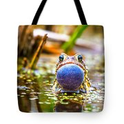 The Calling Frog Tote Bag