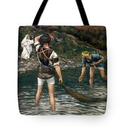 The Calling Of Saint Peter And Saint Andrew Tote Bag by Tissot