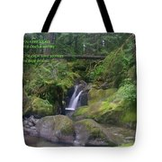 The Calm Waters  Tote Bag