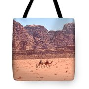 The Camel Riders Tote Bag