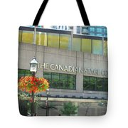 The Canadian Stage Company Tote Bag