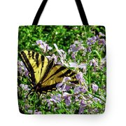 The Canadian Tiger Swallowtail Tote Bag