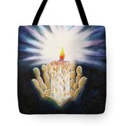 The Candle Of The Lord Tote Bag