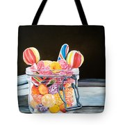 The Candy Jar Tote Bag