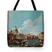 The Cannament Of The Great Canal Tote Bag