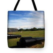 The Cannons At Fort Moultrie In Charleston Tote Bag