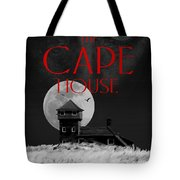 The Cape House Book Cover Tote Bag