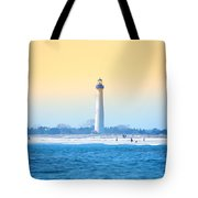 The Cape May Light House Tote Bag