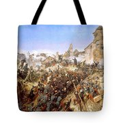 The Capture Of Constantine Tote Bag