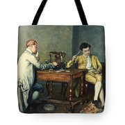 The Card Game Tote Bag