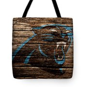 The Carolina Panthers 4a Tote Bag