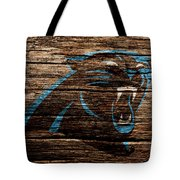 The Carolina Panthers 4b Tote Bag