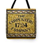 The Carpenters Company Tote Bag