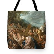 The Carrying Of The Cross Tote Bag