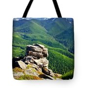 The Cascade Mountains Tote Bag