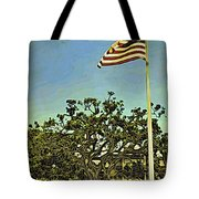 The Casements Flag Flying Tote Bag
