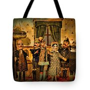 The Cast Takes A Bow Tote Bag