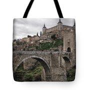 The Castle And The Bridge Tote Bag