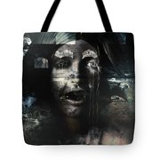 The Castle And The Vampires Tale Tote Bag