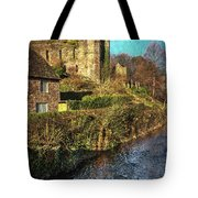 The Castle At Brecon Tote Bag
