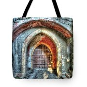 The Castle Door - La Porta Del Castello Tote Bag