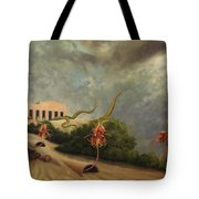 The Catching-house Tote Bag