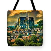 The Cathedral At Arundel Tote Bag