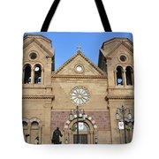 The Cathedral Basilica Of St. Francis Of Assisi, Santa Fe, New M Tote Bag