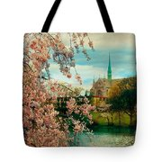 The Cathedral Basilica Of The Sacred Heart Tote Bag