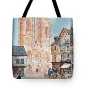 The Cathedral Front Tote Bag
