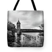 The Cathedral Of Fish Bw Tote Bag
