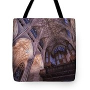 The Cathedral Of St. Patrick Tote Bag