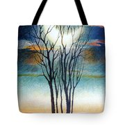 The Caught Moon Tote Bag