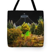 The Center Of Downtown Spokane Tote Bag