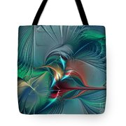The Center Of Longing-abstract Art Tote Bag