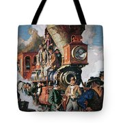 The Ceremony Of The Golden Spike On 10th May Tote Bag