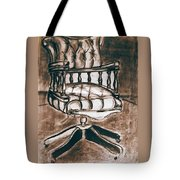 The Chair Of Constandinos Tote Bag