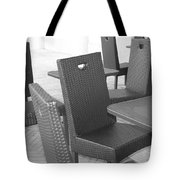 The Chairs Tote Bag