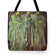 The Challenge In The Wilderness 1898 Tote Bag