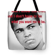 The Champ Muhammad Ali  Tote Bag