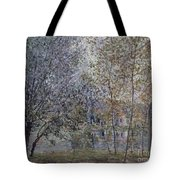 The Channal Of Loing In Spring Tote Bag