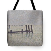 The Channel At Nieuport Tote Bag