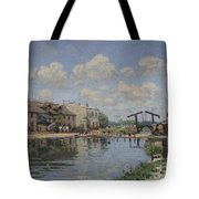 The Channel Of Saint Martin Tote Bag