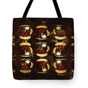 The Chaos Of Tiny Teacups Tote Bag