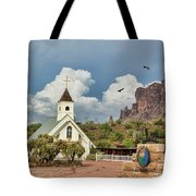 The Chapel Tote Bag