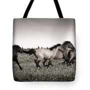 The Chase 1 Copper Tote Bag by Roger Snyder