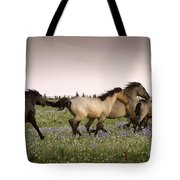 The Chase 1 Tote Bag by Roger Snyder