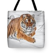 The Chase Is On Tote Bag