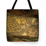 The Checkerboard  Tote Bag