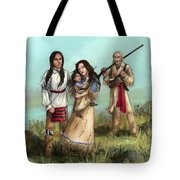 The Cherokee Years Tote Bag by Brandy Woods